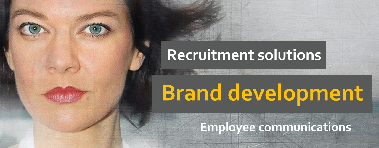 recruitment solutions, brand development, employee communications